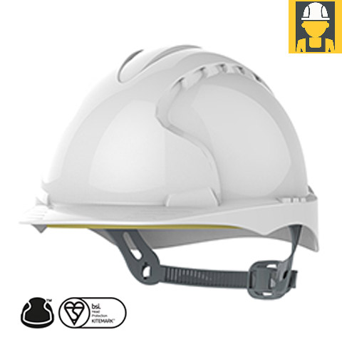 Evo2 Safety Helmet With Slip Ratchet Non Vented