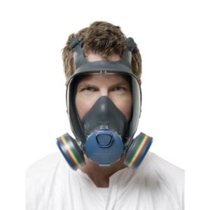 MOLDEX 9000 FULL FACE MASK - RESPIRATOR