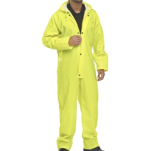 Nylon B-Dri Coverall - All In One - Yellow