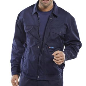 SUPER CLICK DRIVERS JACKET (NAVY BLUE)