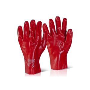 pvc-gauntlet-open-cuff-11in-red-pvcr11