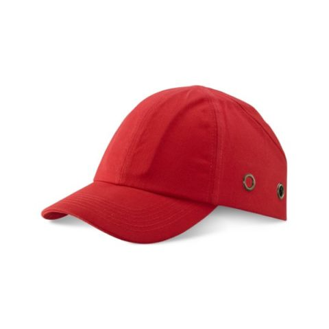 Safety-Baseball-Cap-Red