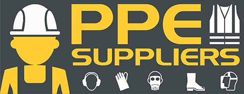 PPE SUPPLIERS VECTOR LOGO HEADER