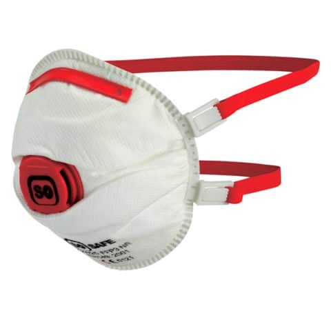 FFP3-NR Disposable Cup Valved Respirator (10) - Popular Mask