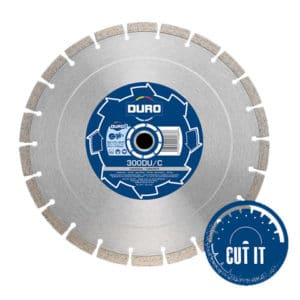 DURO 300DU/C (300mm) Diamond Blade