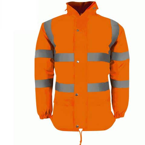 Eagle Hi Vis Orange Lightweight Jacket