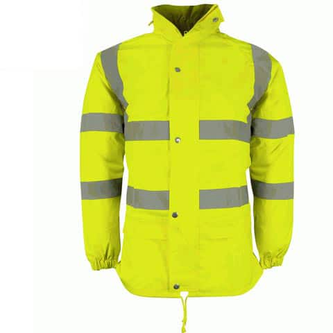FALCON HI VIS YELLOW LIGHTWEIGHT JACKET