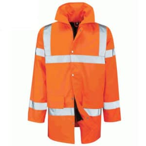 TRISTAN HI VIS ORANGE PARKA JACKET