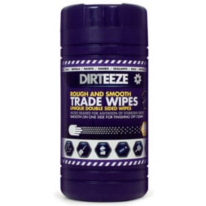 Dirteeze Rough and Smooth Wipes (tub of 80)