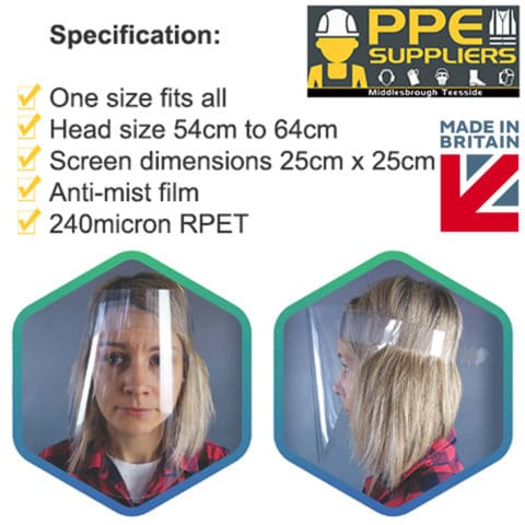 Ppe Suppliers Co-Developed Nhs Clear Visor