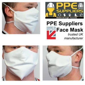 PPE Suppliers Face Mask 10 pack (UK Manufactured)