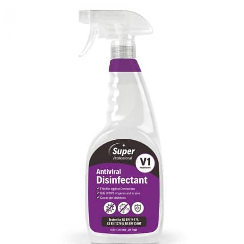 V1 ANTIVIRAL DISINFECTANT 750ML