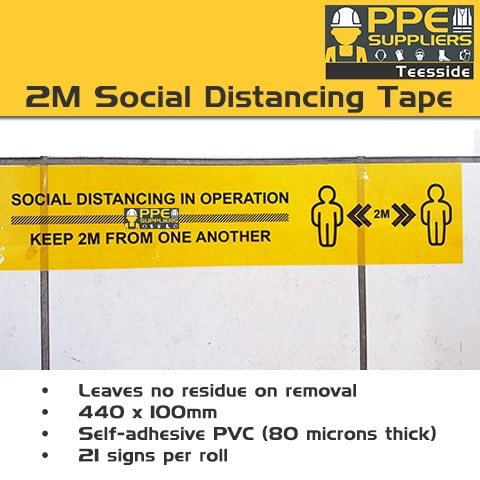 2M-Social-Distancing-Tape-440-X-100Mm