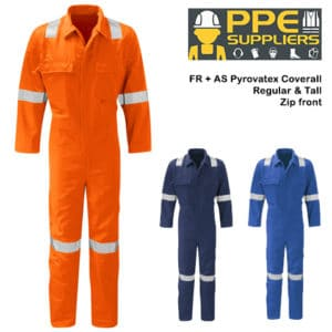 Fuego DLTPBS FR + AS Hi Vis Coverall (zip front)