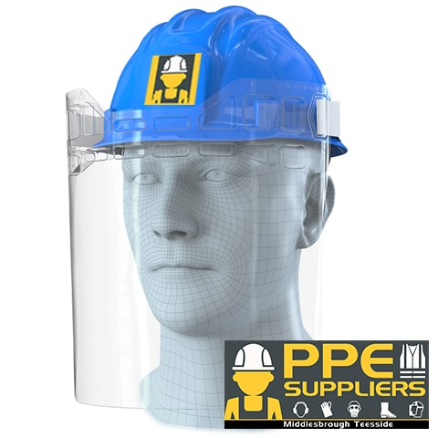 Helmet Visor Attachment by PPE Suppliers
