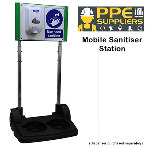Mobile Sanitiser Station