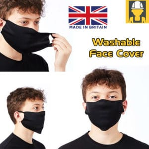 Washable Face Cover - One size (pk of 50)