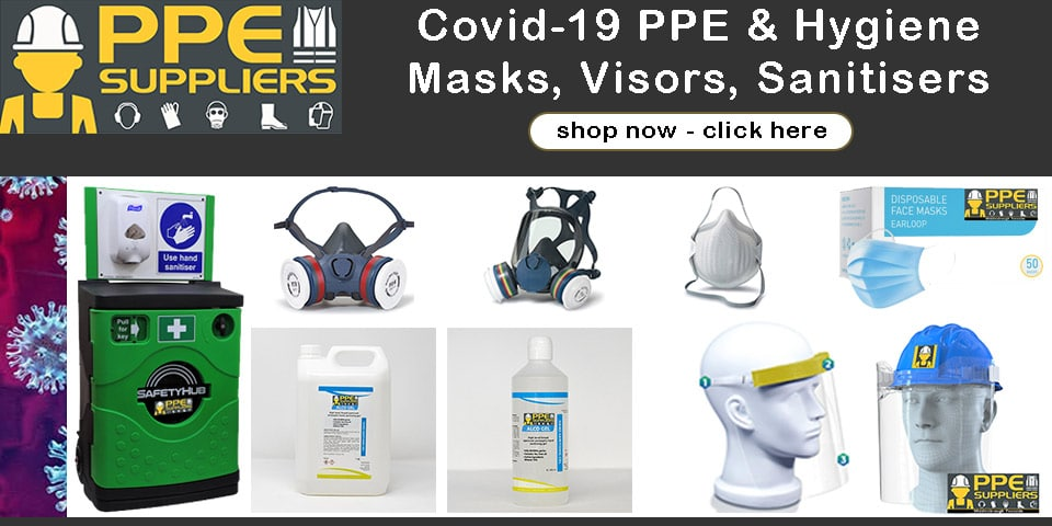 Buy Covid-19 PPE Supplies and Hygiene with next day nationwide delivery