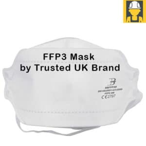 FFP3 Fold Flat Mask by Trusted UK Brand (box of 20)