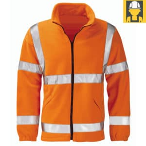 HVFLER-Gladiator-Hi-Vis-Orange-Fleece-Jacket
