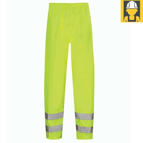 Hvt01-Hawk-Hi-Vis-Yellow-Waterproof-Over-Trouser