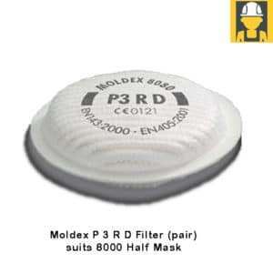 Moldex-8080-P-3-R-D-Filter-(pair)-suits-8000-Half-Mask
