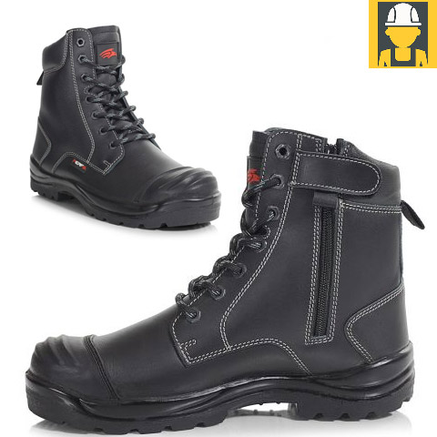 PB15CZ Side-Zip Combat Safety Boot