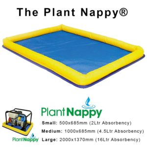 PLANT NAPPY FROM SPILL SUPPLIERS MIDDLESBROUGH TEESSIDE