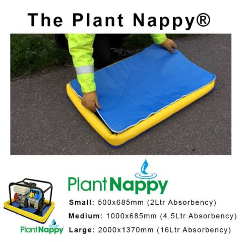 PLANT NAPPY LINER SPILL SUPPLIERS MIDDLESBROUGH TEESSIDE