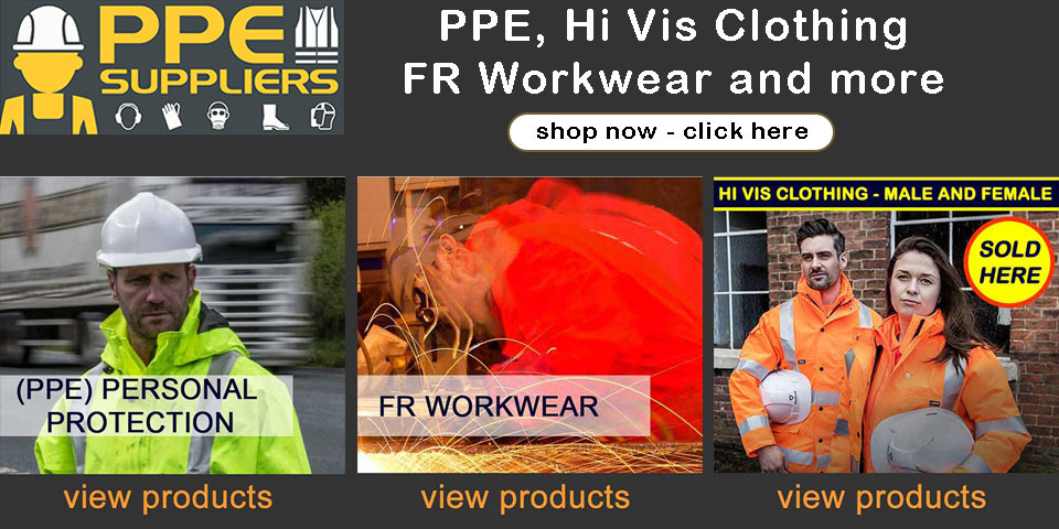 Buy PPE Supplies, Hi Vis Clothing, FR Clothing and more from PPE Specialist