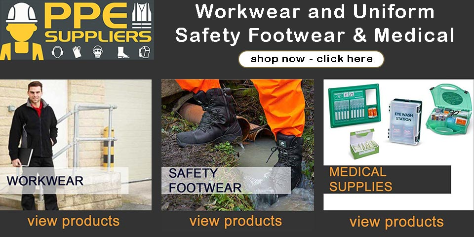Buy Workwear and Uniform, Safety Footwear and Medical Supplies