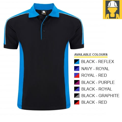 1188 Avocet Two Tone Poloshirt - Orn