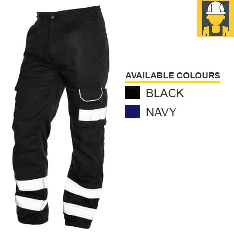 2510N Condor Kneepad Trousers with 2 HV Bands