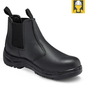Chelsea Black Dealer Boot