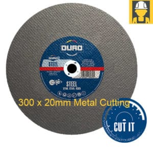 Duro 300 20mm Metal Cutting Abrasive Disc