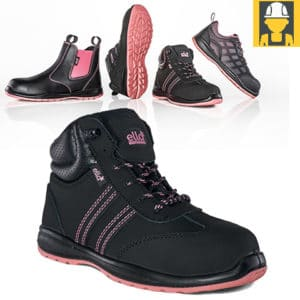 Ella Jasmine Nubuck Ladies Safety Boot