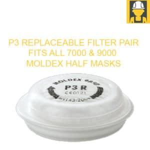 Moldex 9030 P3 Replaceable Filter Pair