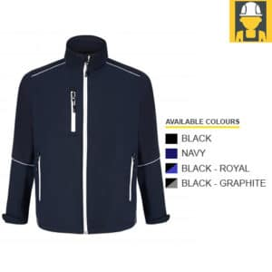 4283-Fireback-Two-Tone-Softshell-Jacket---ORN