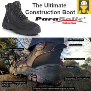 Bilder Parabolic S3 Construction Boot