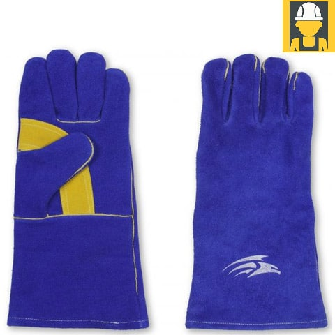 G9 Kevlar Top Quality Leather Welding Gauntlets