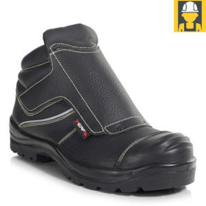 PB94C PERF Velcro Ankle Length Welders Boot