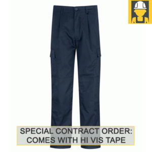 PC245CT Combat Trousers 245gsm with Hi Vis Tape