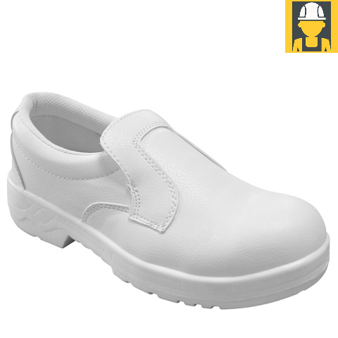 Hygiene Slip-On Shoe In White