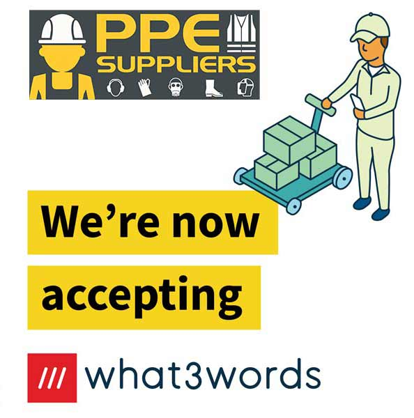 PPE Suppliers Ltd now accepting what3words