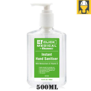 500ml Hand Sanitiser c/w Moisturisers and Vitamin D