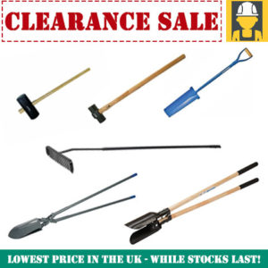 Building and Landscaping Tools Clearance