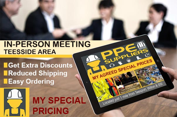 Meet PPE Suppliers Ltd in-person in Teesside