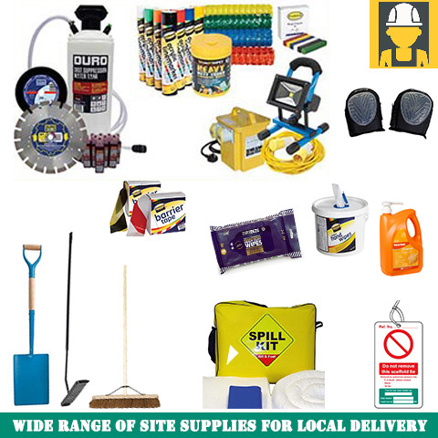 Site Supplies For Local Teesside Delivery