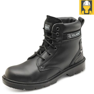 Click Cf2Bl Smooth Leather 6 Inch S1P Safety Boot