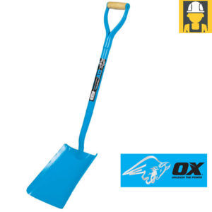 OX Trade Solid Forged Square Mouth Shovel - No 2
